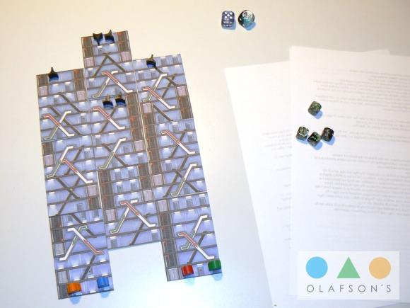 Upstairs-Spielaufbau